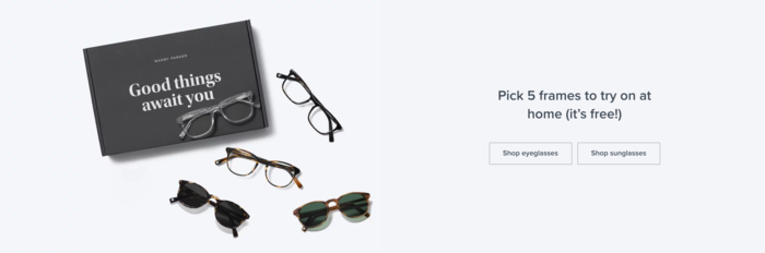 d42326dc1d All you have to do is choose which frames you want (they also offer a quiz  to find your perfect fit)
